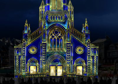 Biarritz-Mapping-Azarek-Un ange passe-Eglise02