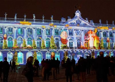 Nancy, place Stanislas, mapping, azarek, 03