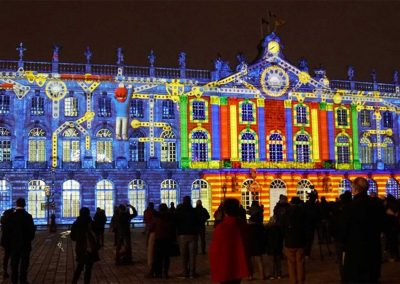 Nancy, place Stanislas, mapping, azarek, 05