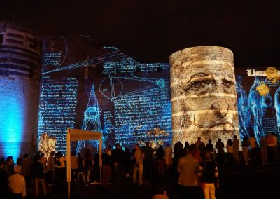 Angers 2018 – Mapping château d'Angers