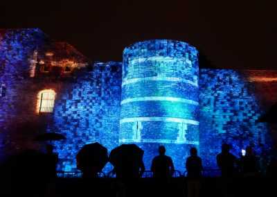 Angers 2019 – Mapping château d'Angers