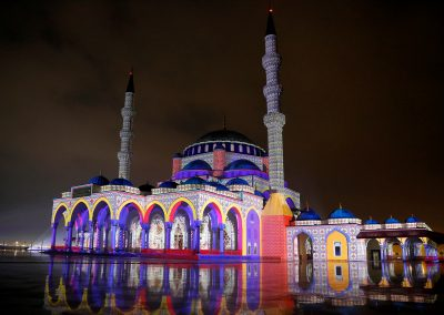SLF MOSQUE - SHARJAH LIGHT FESTIVAL - MOSQUE- AZAREK - MAPPING 05