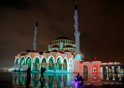 SLF MOSQUE - SHARJAH LIGHT FESTIVAL - MOSQUE- AZAREK - MAPPING 07
