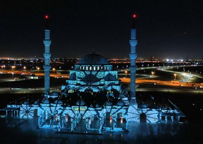 Sharjah Light Festival 2020 – Grande Mosquée