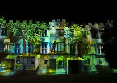 04 FORET - Mapping - Helios 2020 - Musée du Petit Palais - Azarek