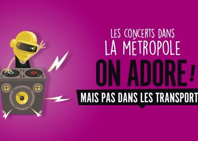 Keolis – Campagne Civisme TCL – Ep3 : Nuits sonores